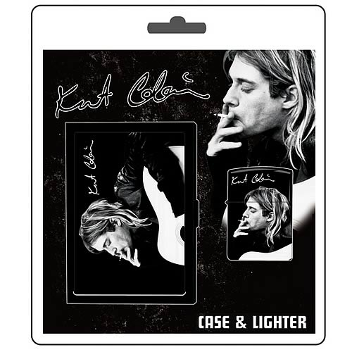 Kurt Cobain 2006 ID Case & Lighter Set