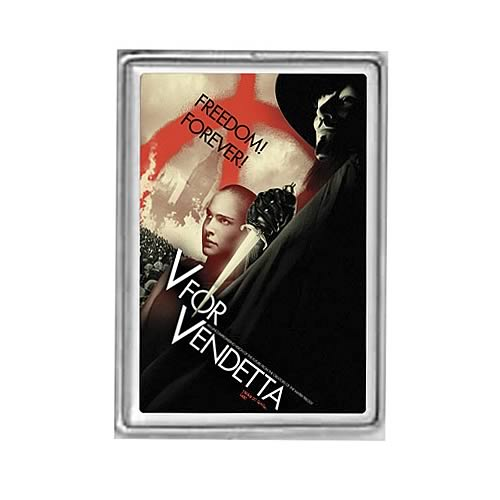 V for Vendetta Metal ID Case