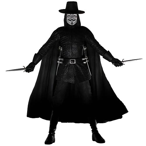 V for Vendetta 12-Inch Statue Limited Edition Sculpture