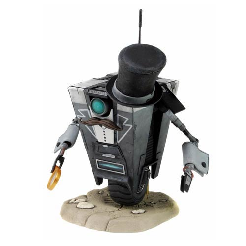 Borderlands Gentleman Caller Claptrap Action Figure