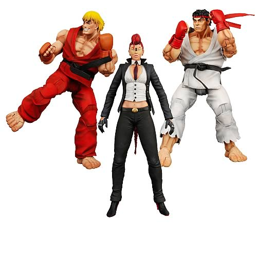 Street Fighter IV Action Figure Assortment Case