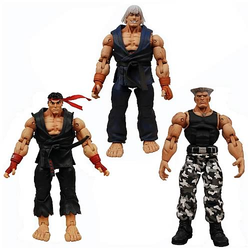 Street Fighter IV Survival Colors Series 1 Action Figures