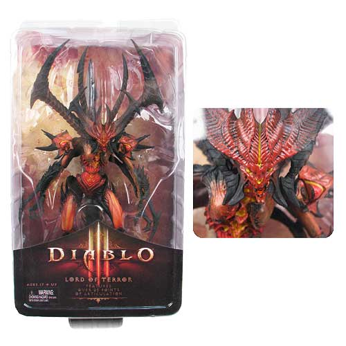 Diablo III Lord of Terror Deluxe Scale 9-Inch Action Figure