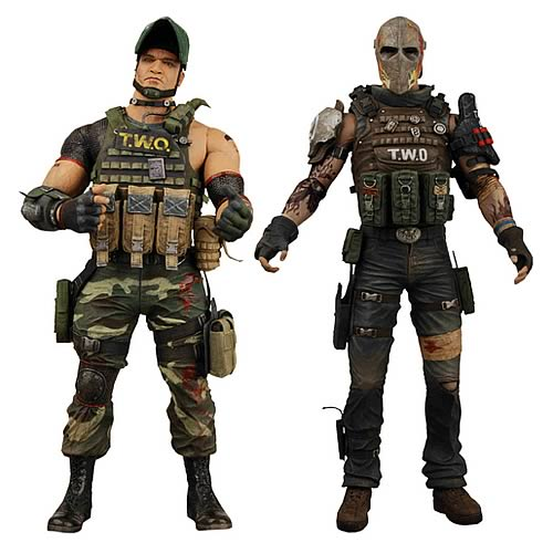 Army of Two: The 40th Day Action Figure Set