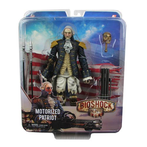 BioShock Infinite George Washington Patriot Turret Figure