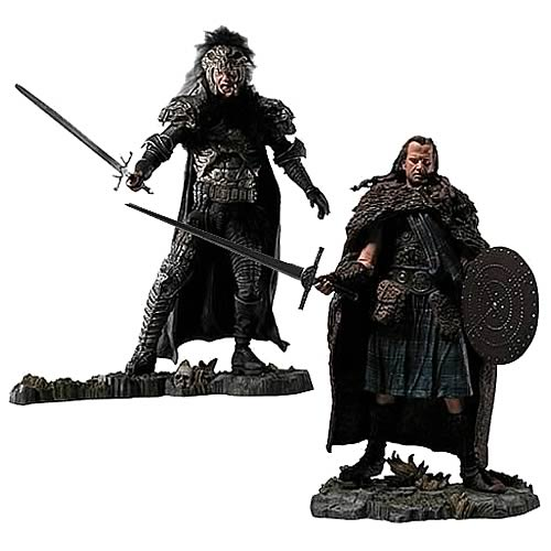 Highlander Medieval Action Figures