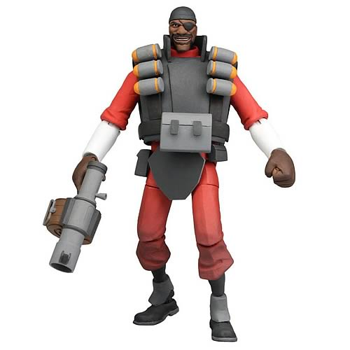 Team Fortress 2 Series 1 Demoman 7-Inch Action Figure