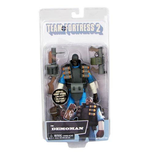 Team Fortress BLU Demo Series 1 Deluxe 7-Inch Action Figure