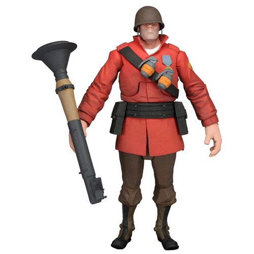 Team Fortress 2 Series 2 RED Soldier Action Figure