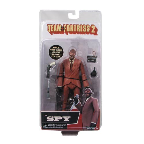 Team Fortress 2 Series 3 RED Spy Action Figure