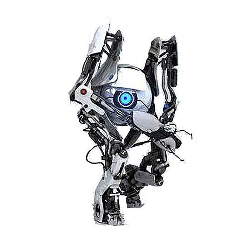 Portal 2 ATLAS Deluxe 7-Inch Light-Up Action Figure