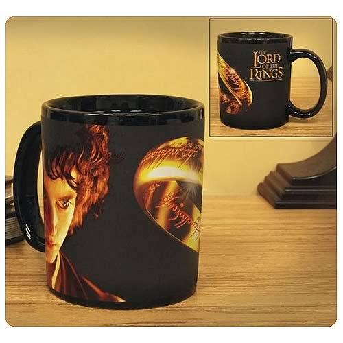 Lord of the Rings Frodo and the One Ring Thermal Mug