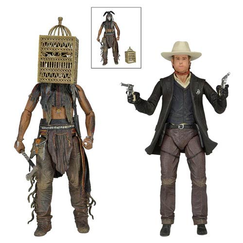 The Lone Ranger 7-Inch Series 2 Action Figure Case
