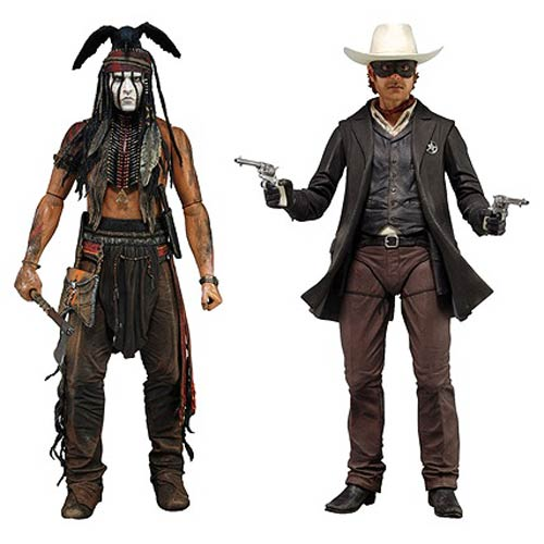 The Lone Ranger 7-Inch Action Figure Series 1 Set