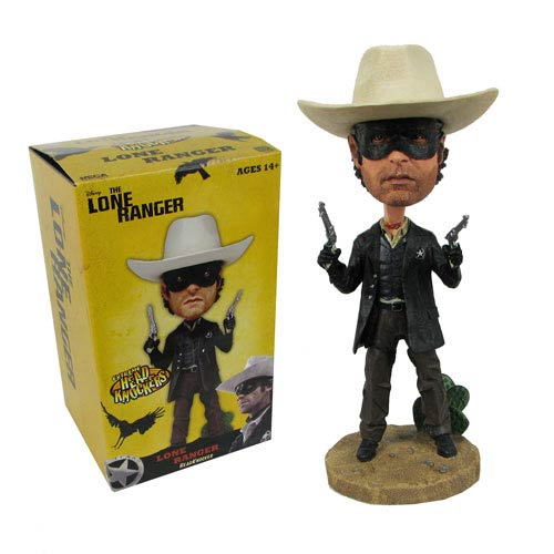 The Lone Ranger 7-Inch Lone Ranger Bobble Head