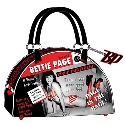 Bettie Page Bowling Bag