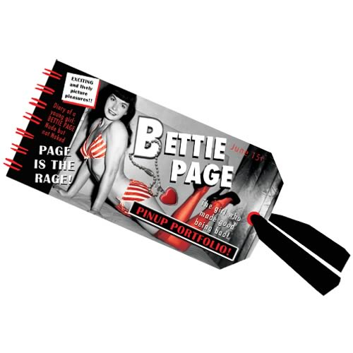 Bettie Page Mini Notebook