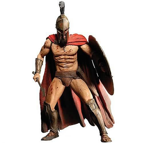 300 Leonidas 12-Inch Talking Action Figure