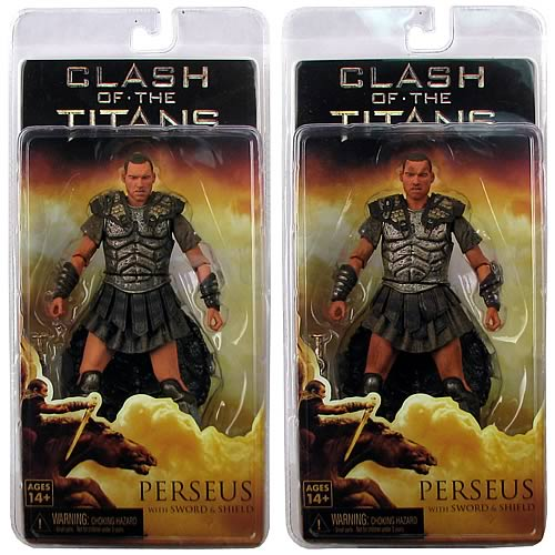 Clash of the Titans Perseus Action Figure Case