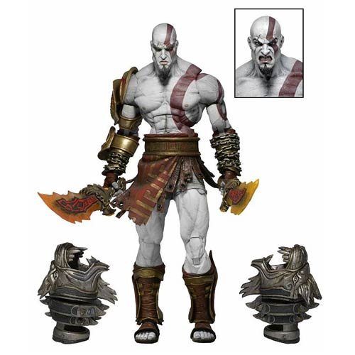 God of War 3 Ultimate Kratos 7-Inch Scale Action Figure