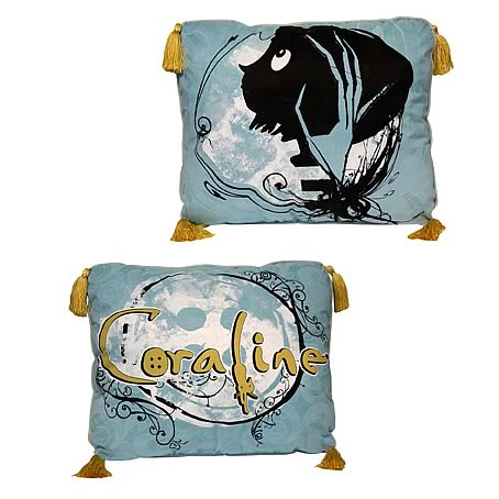 Coraline Vines Throw Pillow