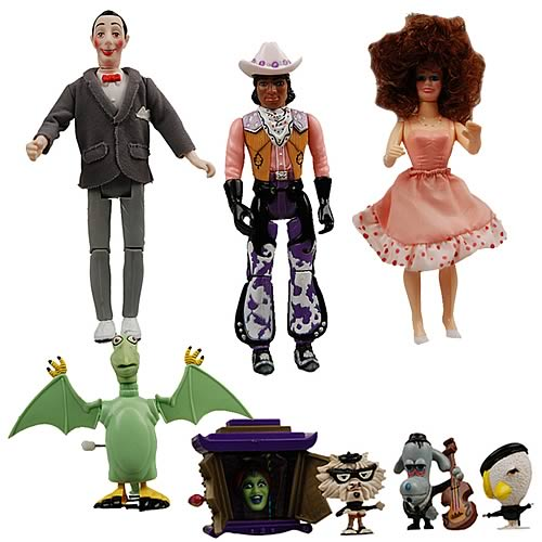 Pee-Wee's Playhouse Action Figure Case