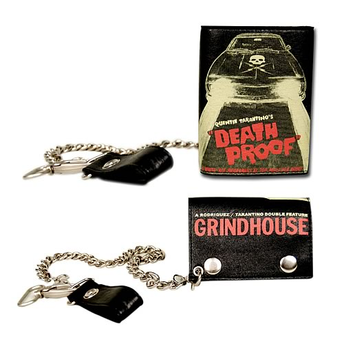 Grindhouse Death Proof Car Leather Chain Wallet