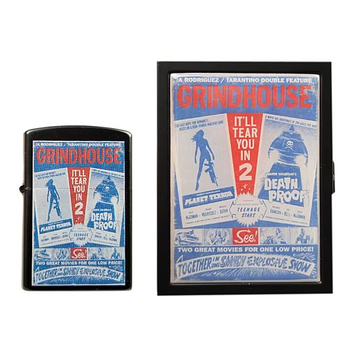 Grindhouse Double Feature ID Case and Lighter