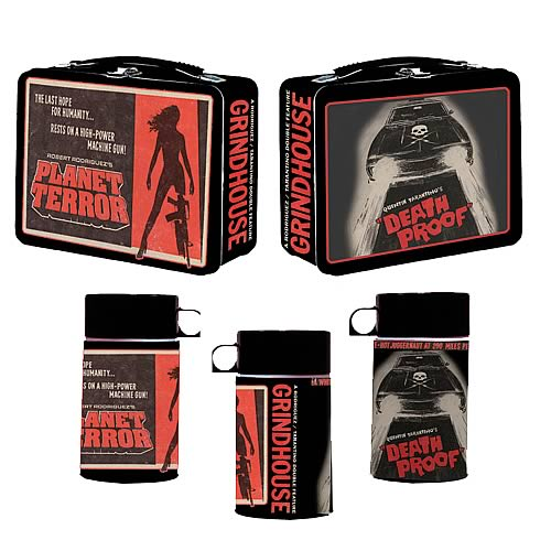 Grindhouse Double Feature Lunch Box