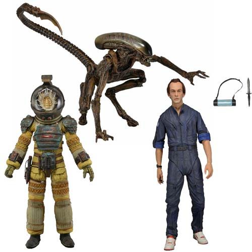 Aliens Series 3 Action Figures Case