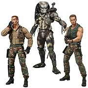 Predators 25th Anniversary Series 8 Action Figure Set