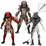 Predators Series 7 Action Figure Set