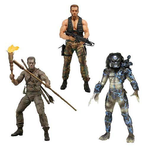 Predator Series 9 Action Figure Set