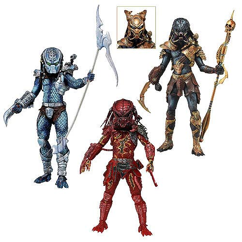 Predator Series 10 Action Figure Set