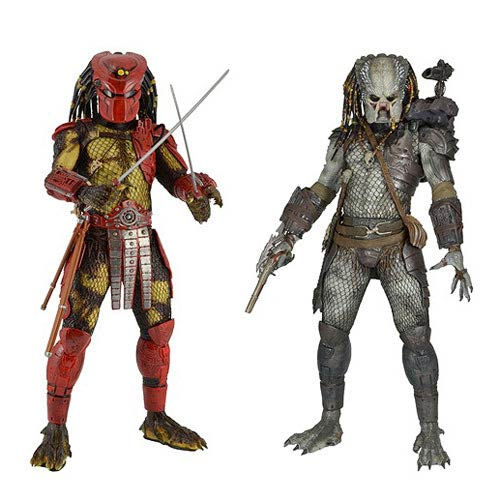 Predators 1:4 Scale Series 3 Action Figure Set