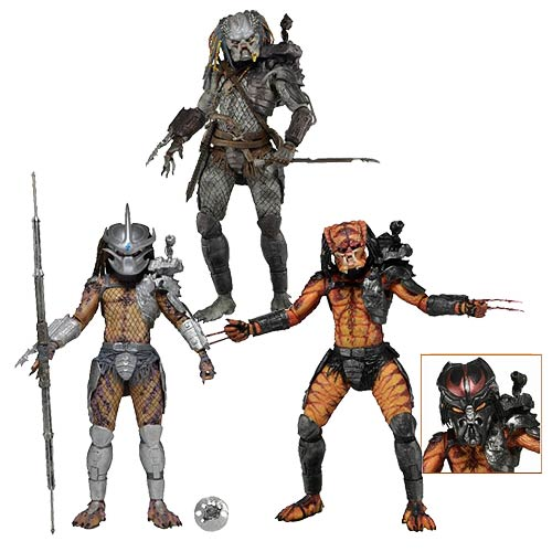 Predator Series 12 Action Figure Set