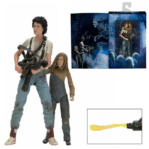 Aliens Ripley and Newt Deluxe Action Figure 2-Pack