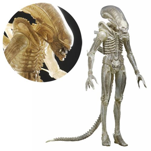 Alien White Prototype Xenomorph 1:4 Scale Action Figure