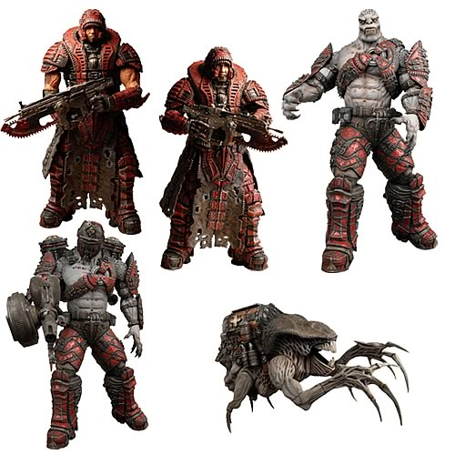 Gears of War Series 4 Action Figure Case