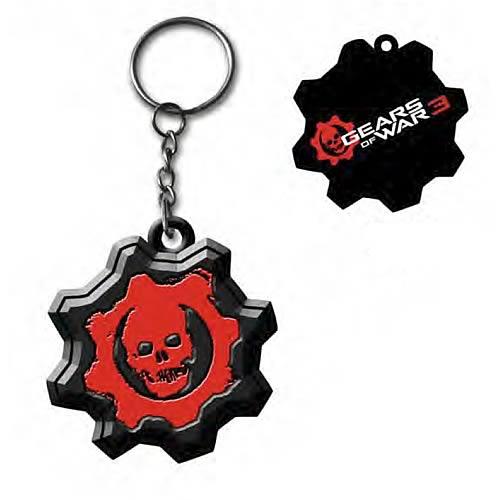 Gears of War 3 Omen Metal Key Chain