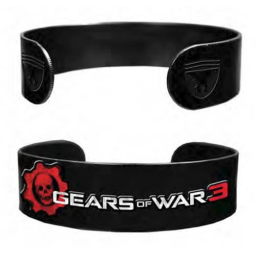 Gears of War 3 Logo Military Bracelet