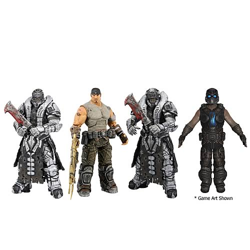 Gears of War 3 Series 3 Action Figures Case