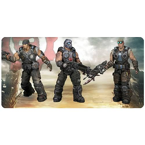 Gears of War 3 3/4-Inch Action Figure Set