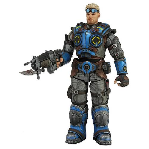 Gears of War Judgment Damon Baird 7-Inch Action Figure