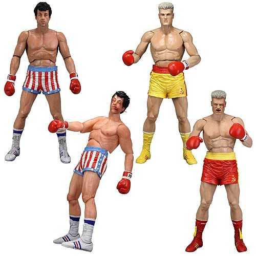 Rocky Series 2 Action Figure Set