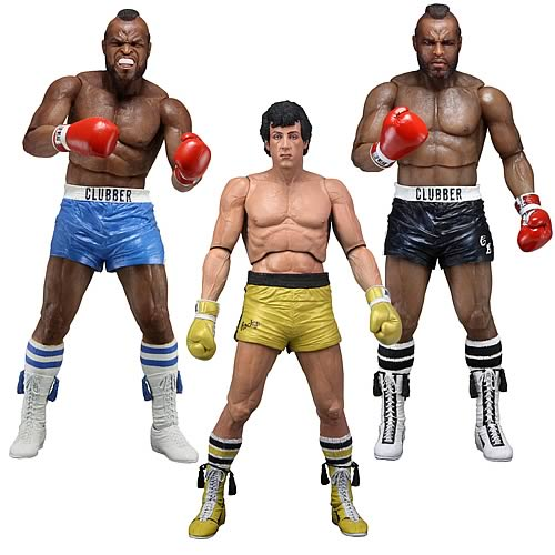 Rocky Series 3 Action Figure Set