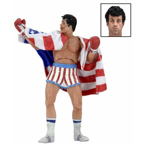 Rocky 40th Anniversary Rocky Series 2 Action Figure