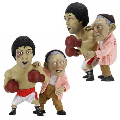 Rocky and Mickey Puppet Maquette 2-Pack Set