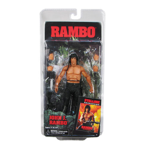 Rambo First Blood Part II Rambo 7-Inch Action Figure