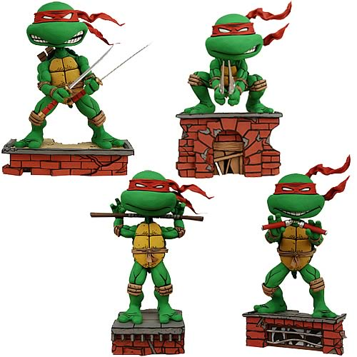 Teenage Mutant Ninja Turtles Bobble Head Set